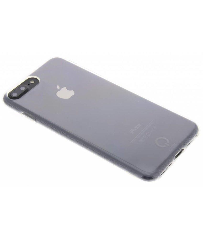Qtrek Transparant Gel Case iPhone 8 Plus / 7 Plus