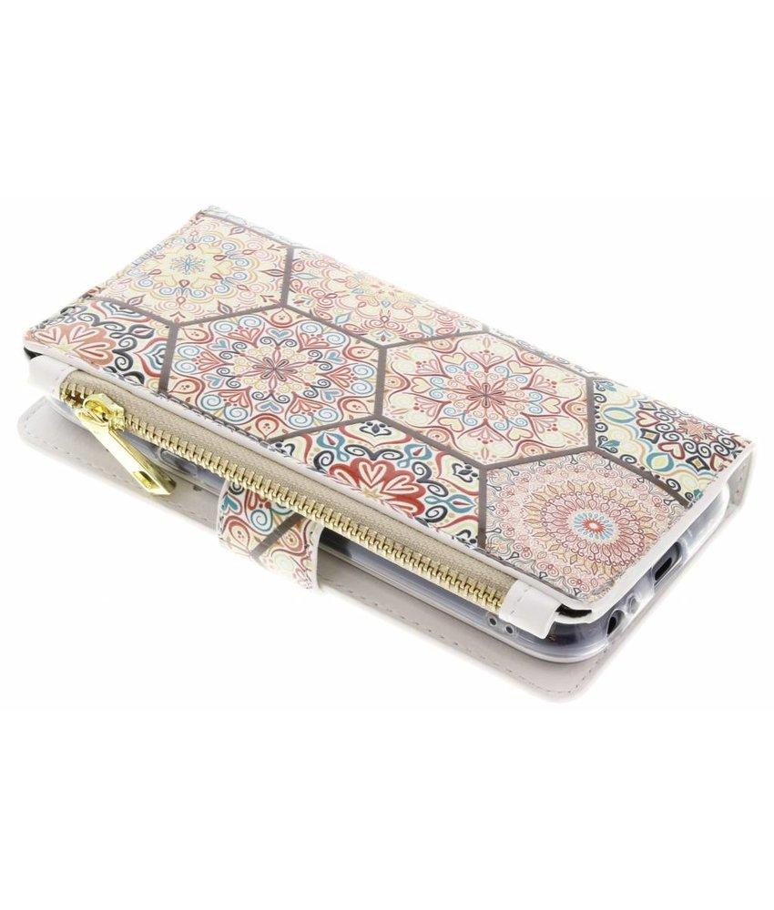 Design Luxe Portemonnee Samsung Galaxy J3 (2017)