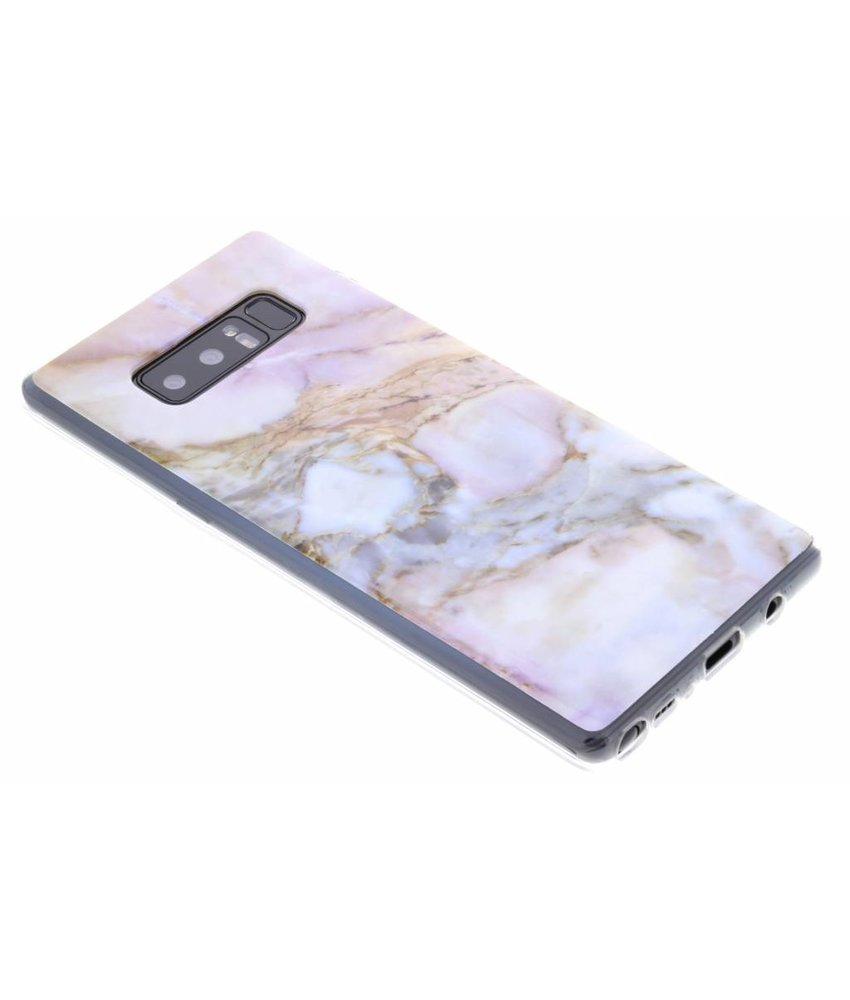 Marmer Softcase Backcover Samsung Galaxy Note 8