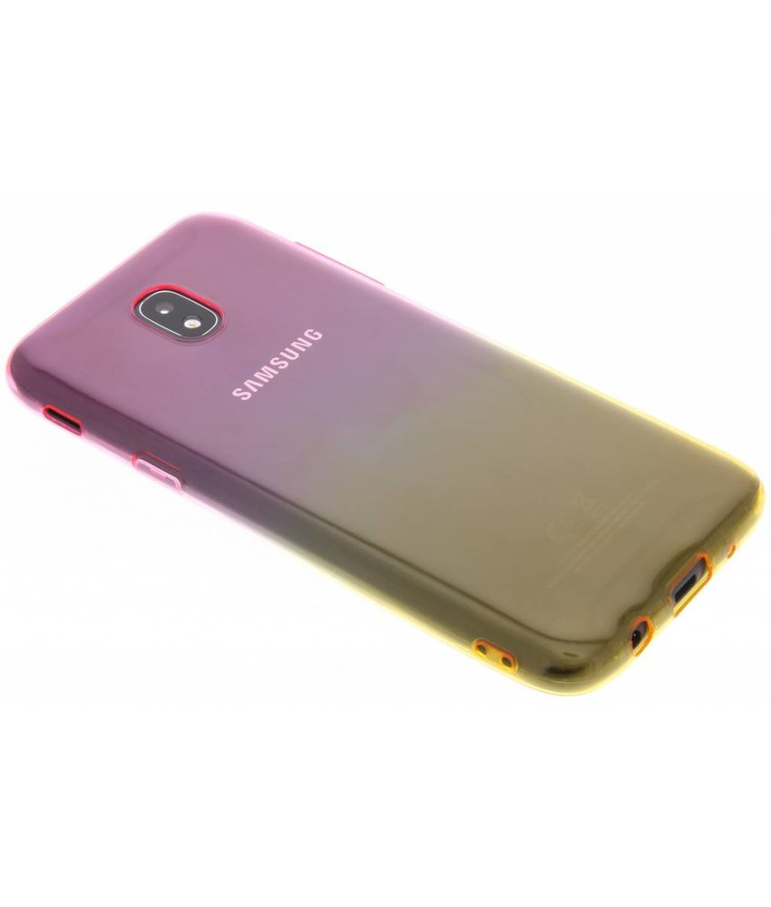 Tweekleurige Backcover Samsung Galaxy J5 (2017)
