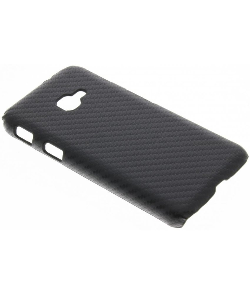 Carbon Hardcase Backcover Samsung Galaxy Xcover 4 / 4s