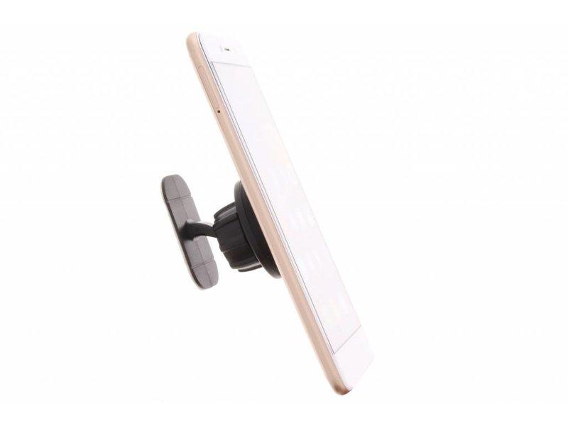 Zwarte magnetische telefoonhouder