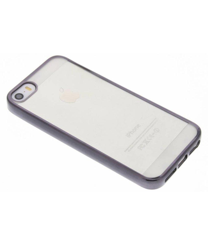 Backcover met metallic rand iPhone SE / 5 / 5s