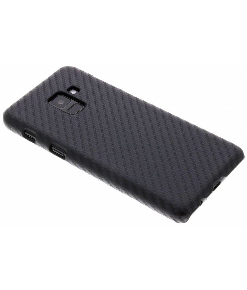 Carbon Hardcase Backcover Samsung Galaxy A8 (2018)