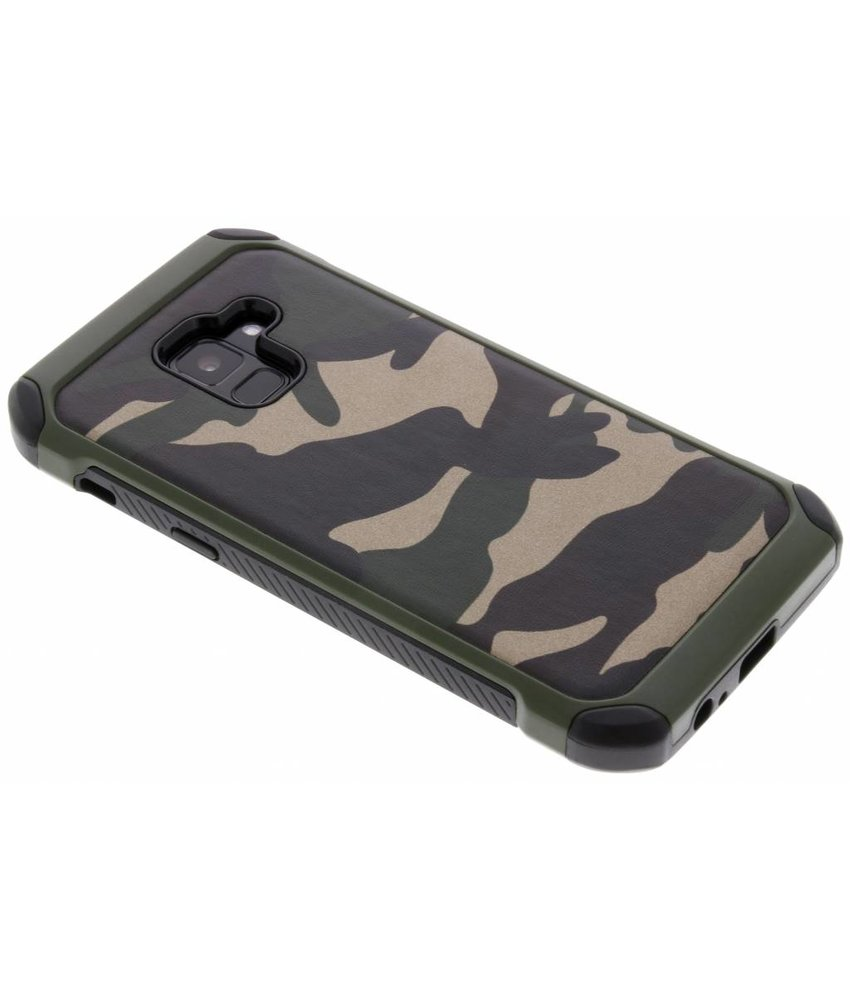 Army Defender Backcover Samsung Galaxy A8 (2018)