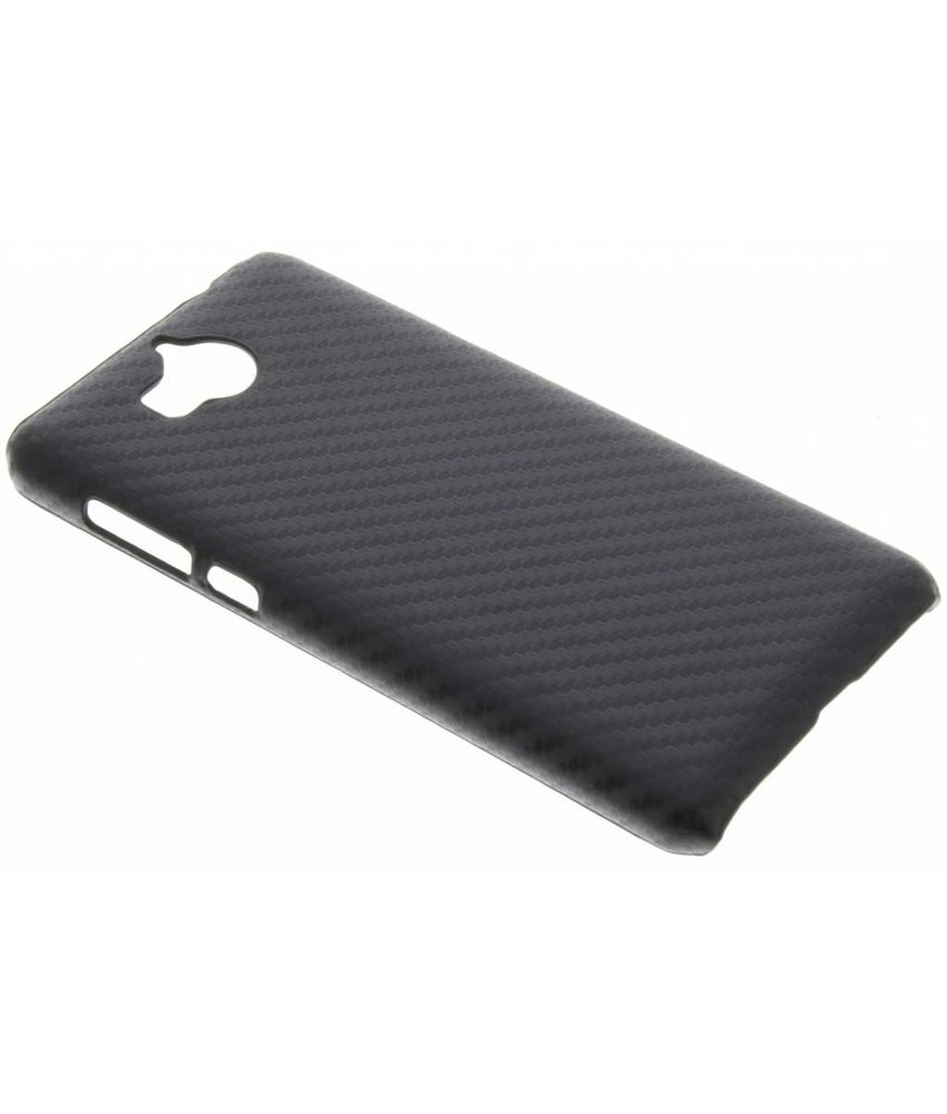 Carbon Hardcase Backcover Huawei Y6 (2017)