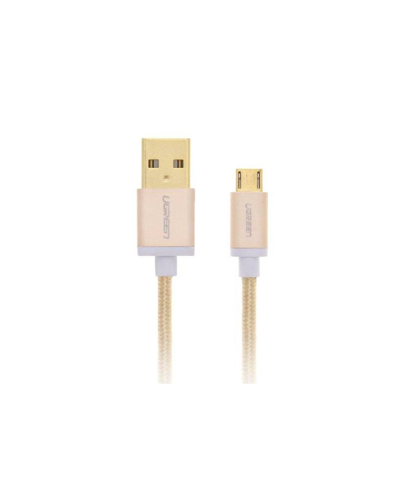 Ugreen Geweven Micro-USB naar USB-kabel 1 meter