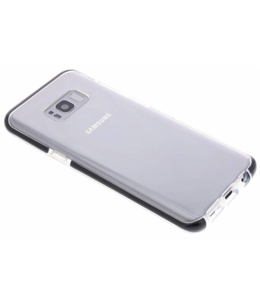 Zwart Bumper siliconen case Samsung Galaxy S8 Plus