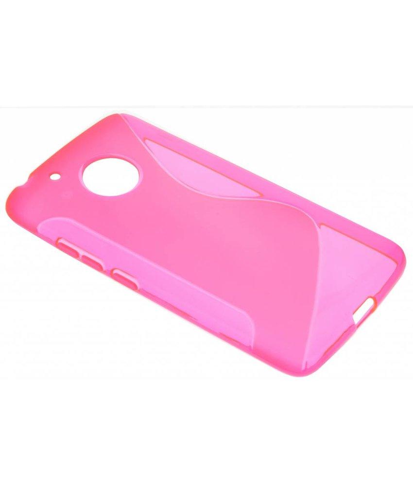 Roze S-Line TPU hoesje Motorola Moto G5