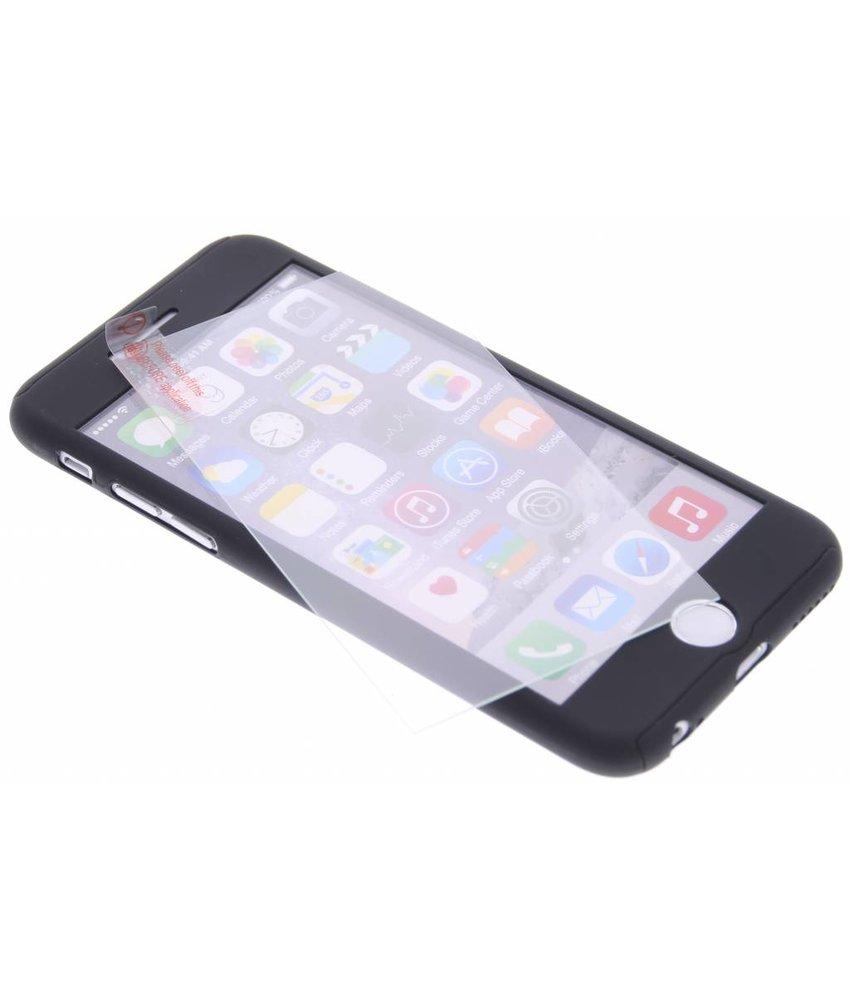 Zwart 360° effen protect case iPhone 6(s) Plus