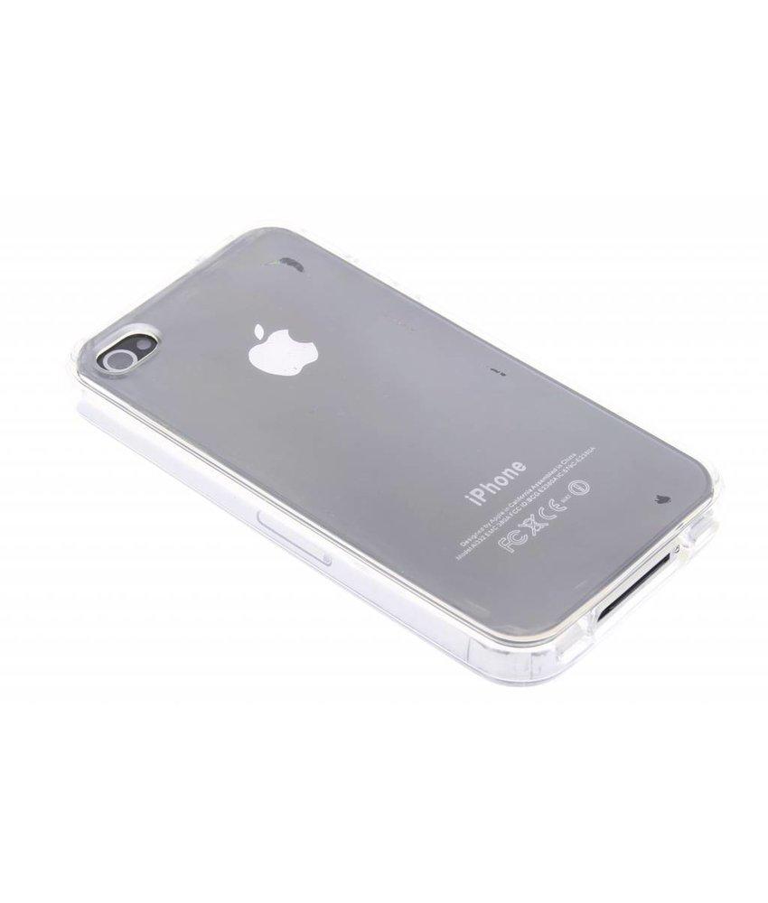 Transparant gel case iPhone 4 / 4s