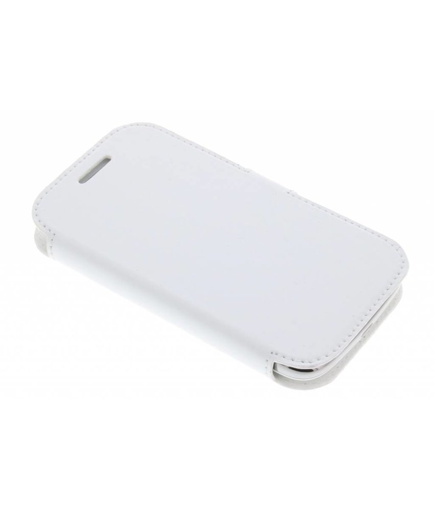 Valenta Booklet Slim Classic Samsung Galaxy Core - White