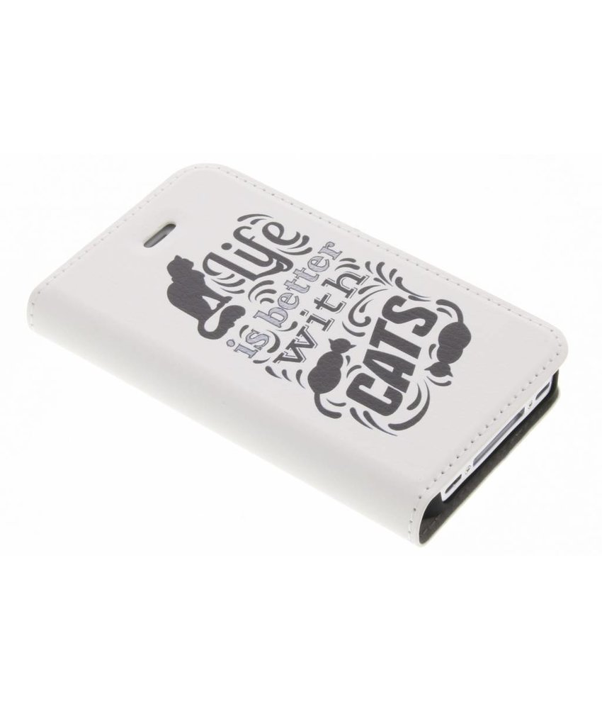 Design Hardcase Booktype iPhone 4 / 4s