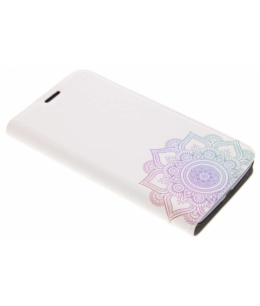 Design Hardcase Booktype Motorola Moto E4