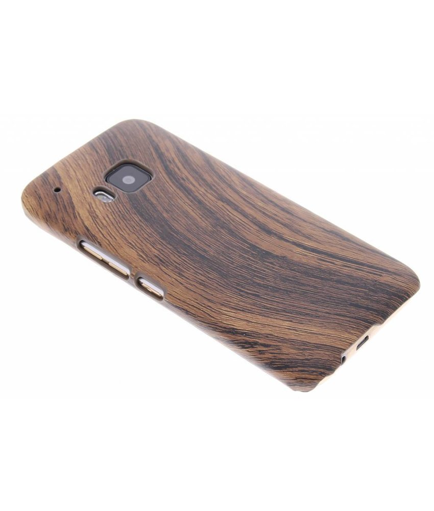 Hout design hardcase hoesje HTC One M9