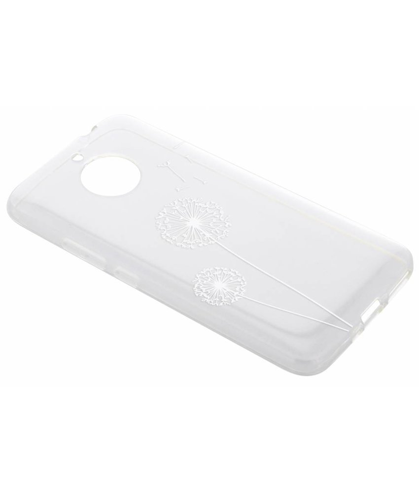 Transparant festival TPU hoesje Motorola Moto E4 Plus