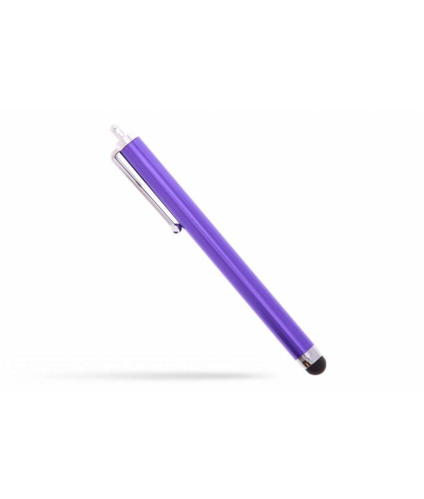 Paars stylus pen