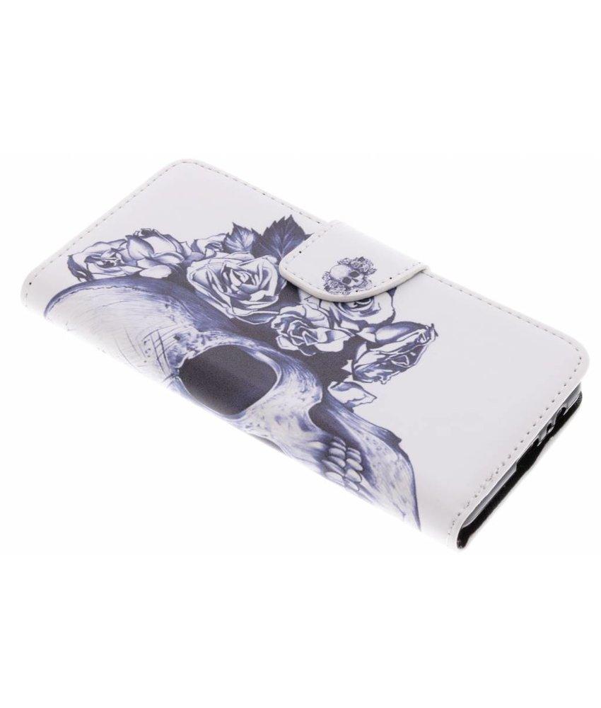 Design Softcase Booktype Samsung Galaxy A8 (2018)