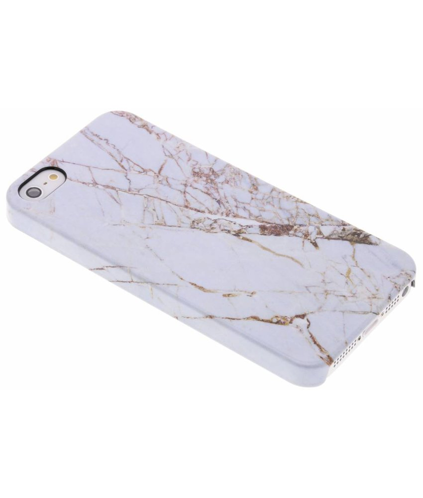 Selencia White Marble Passion Hard Case iPhone 5 / 5s / SE