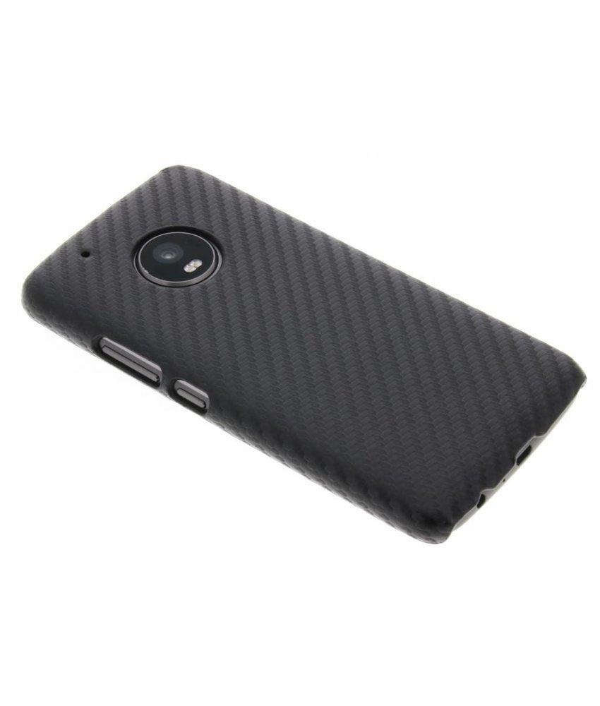 Carbon Hardcase Backcover Motorola Moto G5 Plus