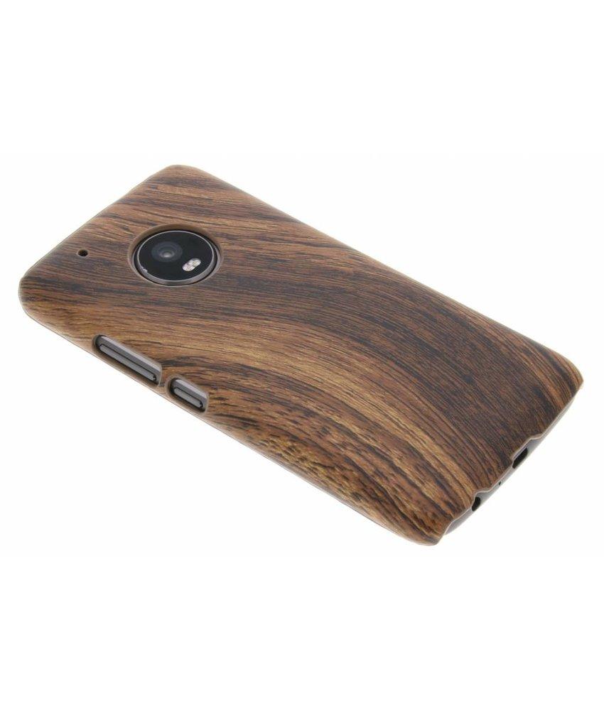 Hout Design Backcover Motorola Moto G5 Plus