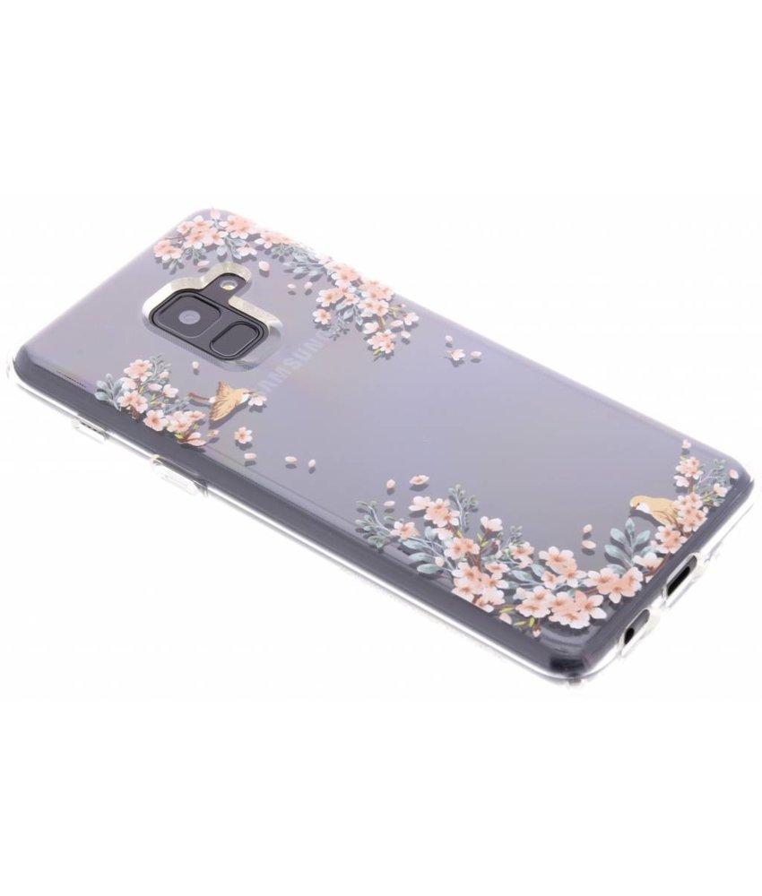 Spigen Liquid Crystal Blossom Backcover Samsung Galaxy A8 (2018)