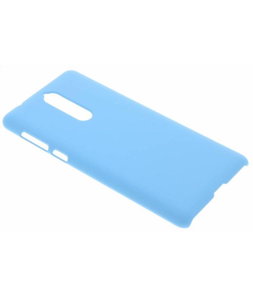 Turquoise effen hardcase hoesje Nokia 8