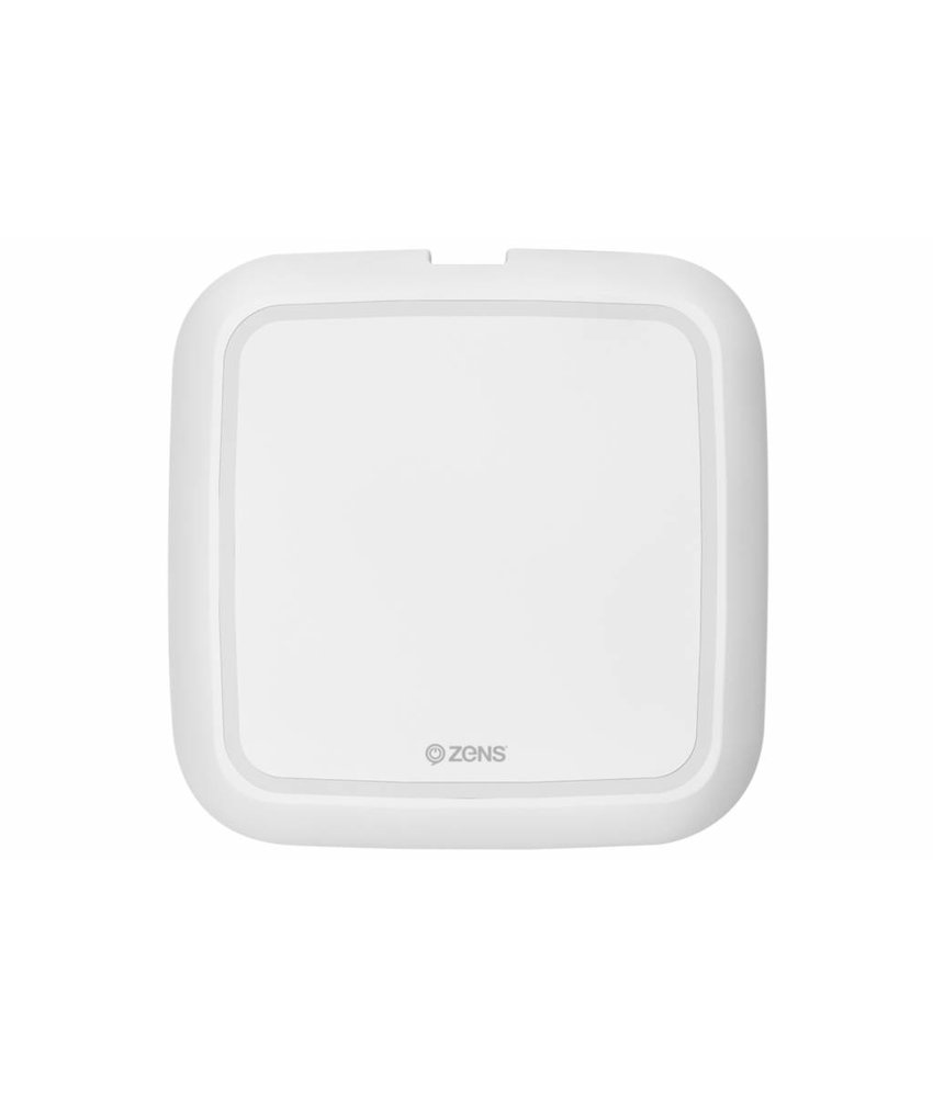Zens Single Fast Wireless Charger 10W - Wit