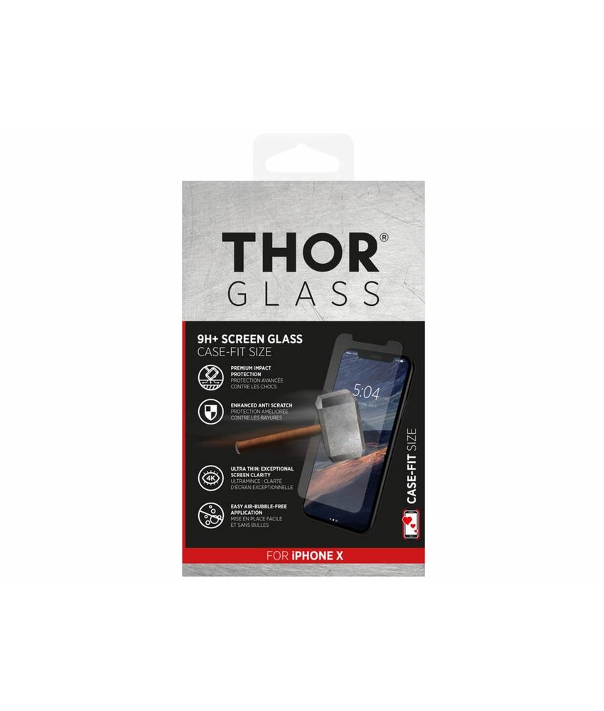 THOR Case-Fit Screenprotector iPhone X / Xs