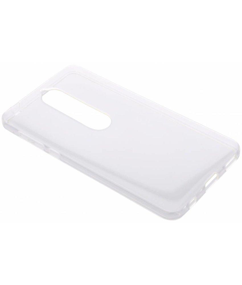 Transparant gel case Nokia 6.1