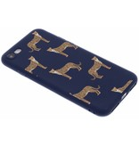 Design Backcover Color voor iPhone 8 / 7 - Cheetah