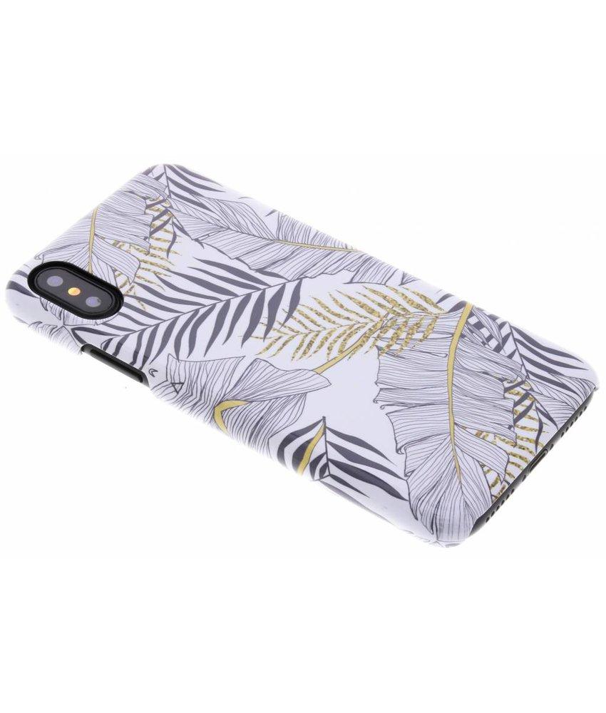 Selencia Botanic Passion Hard Case iPhone Xs / X