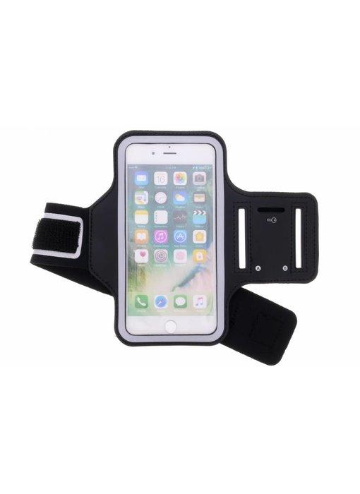 44979d7dbd3216 Zwart sportarmband iPhone 8 Plus   7 Plus