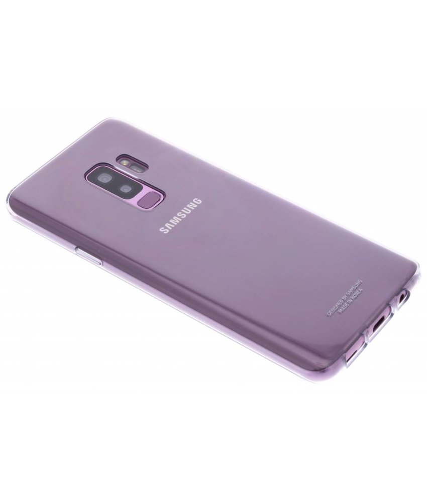 Samsung Clear Hardcase Backcover Samsung Galaxy S9 Plus