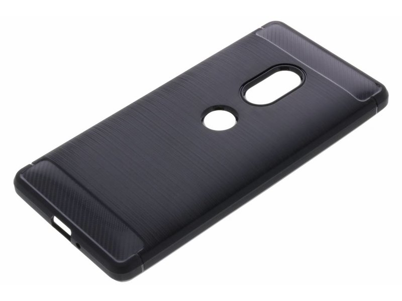 Sony Xperia XZ2 hoesje - Brushed Backcover voor Sony