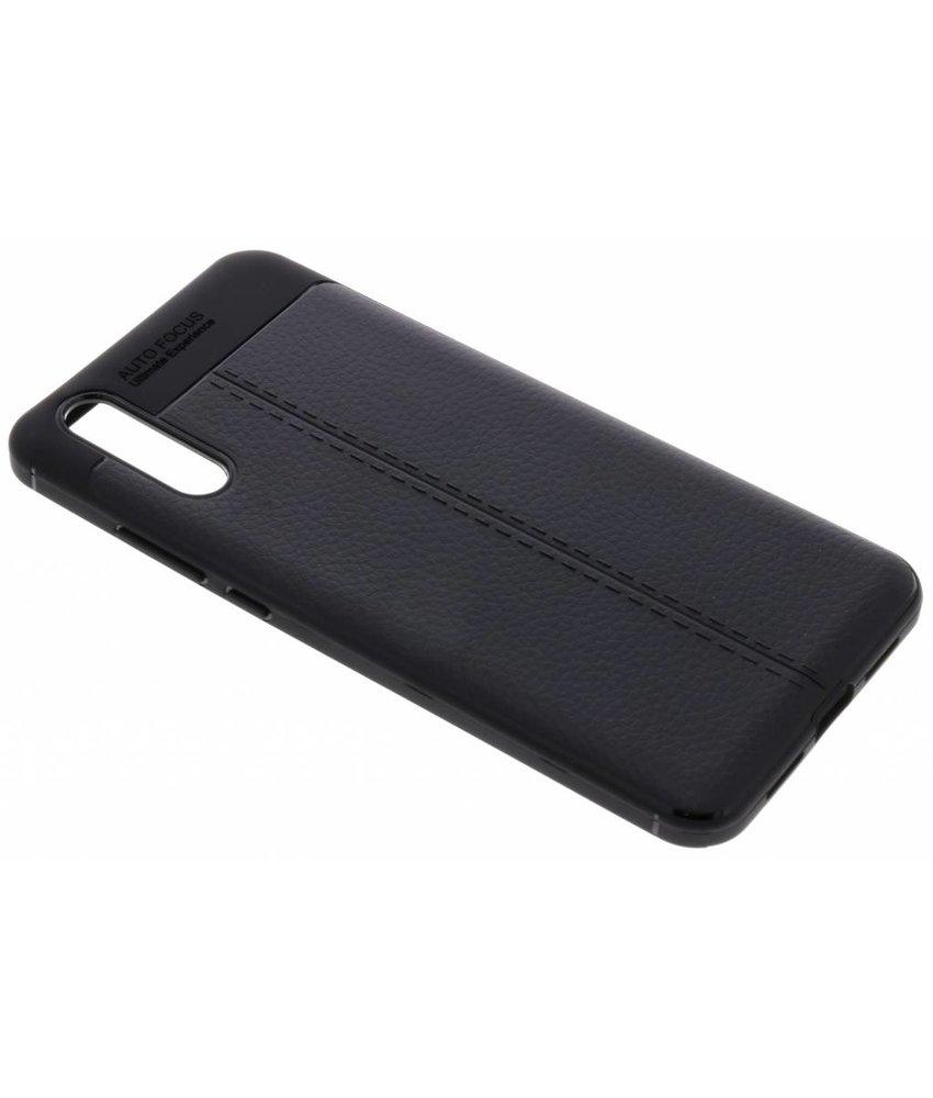 Lederen Backcover met stiksel Huawei P20