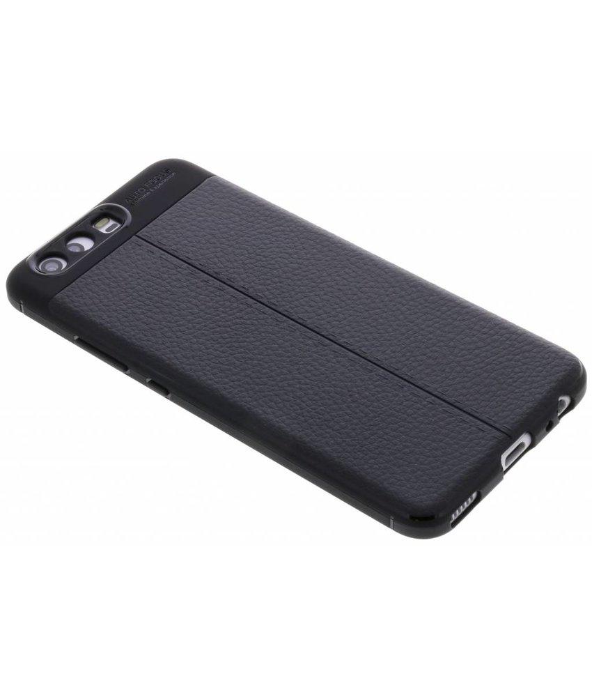 Lederen Backcover met stiksel Huawei P10