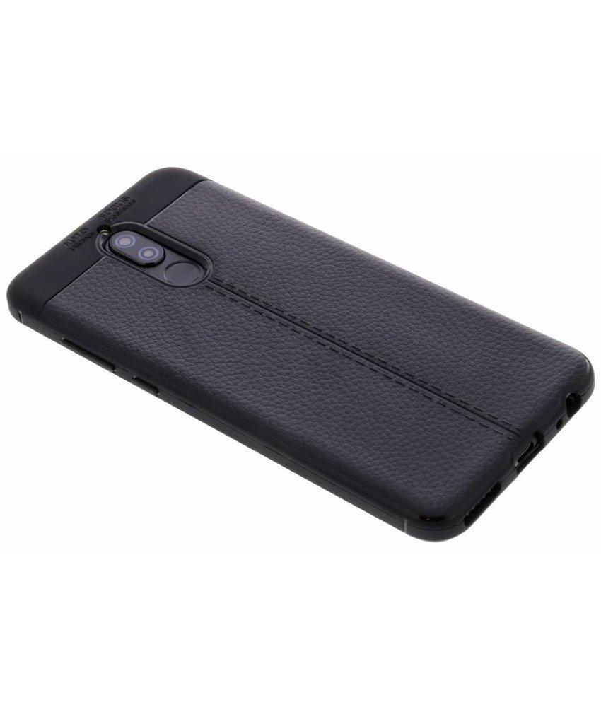 Lederen Backcover met stiksel Huawei Mate 10 Lite