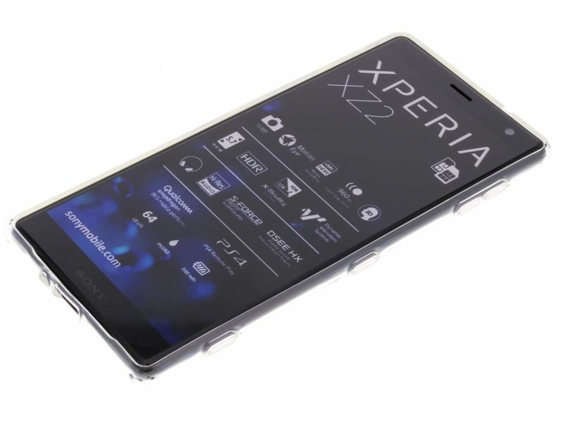 Sony Xperia XZ2 hoesje - Softcase Backcover voor Sony