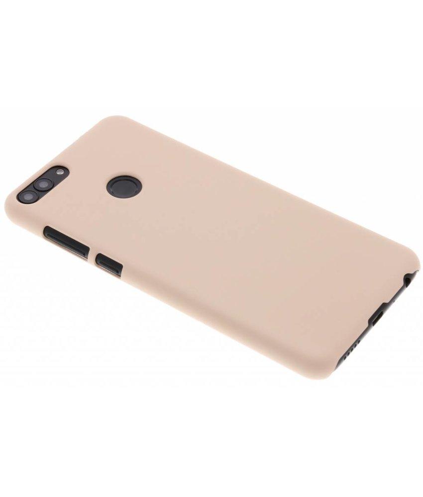 Poederroze pastel hardcase hoesje Huawei P Smart