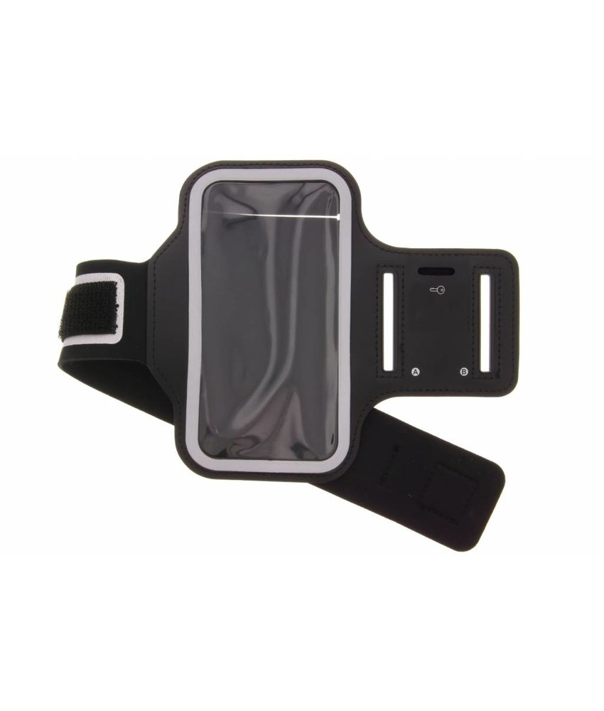 Zwart sportarmband Samsung Galaxy A6 (2018)