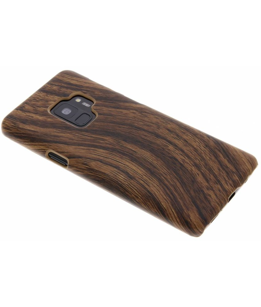 Hout Design Backcover Samsung Galaxy S9