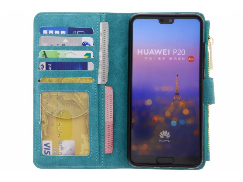 Huawei P20 hoesje - Luxe Portemonnee voor Huawei