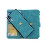 Luxe Portemonnee voor Huawei P20 - Turquoise