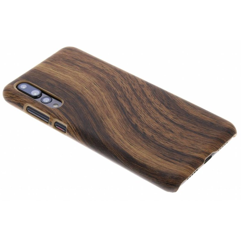 Hout Design Backcover Huawei P20 Pro
