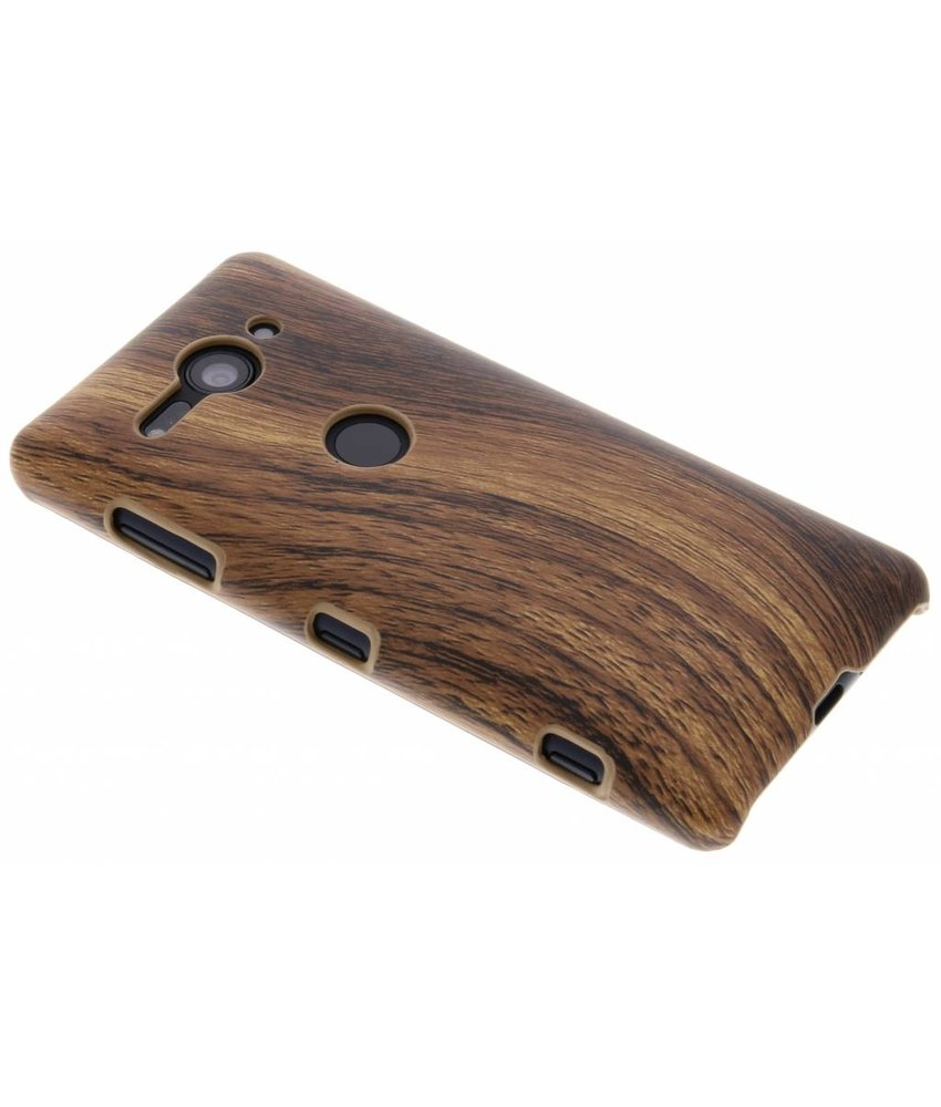 Hout Design Backcover Sony Xperia XZ2 Compact