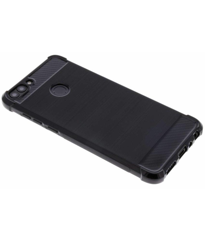 Zwart Xtreme siliconen hoesje Huawei P Smart