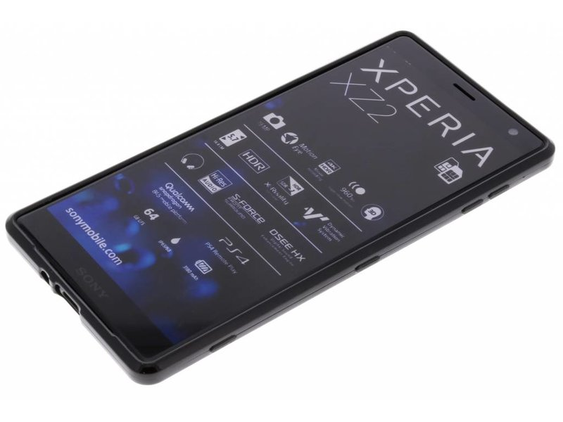 Sony Xperia XZ2 hoesje - S-line Backcover voor Sony