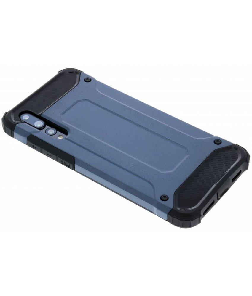 Donkerblauw Rugged Xtreme Case Huawei P20 Pro