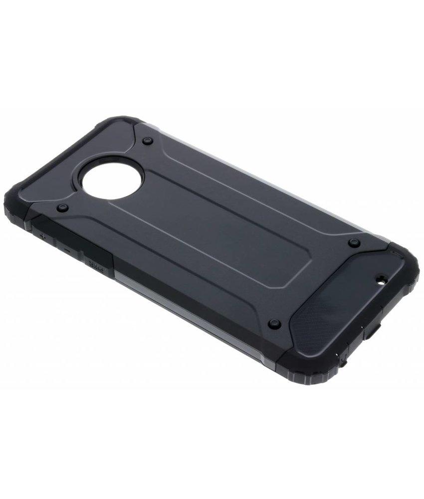 Zwart Rugged Xtreme Case Motorola Moto G6 Plus